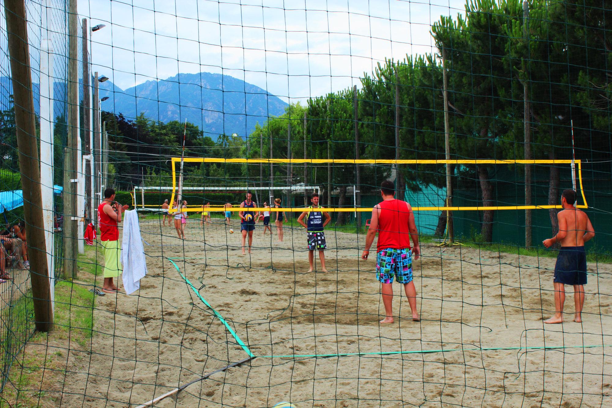 Il Portico Di Sam beach-volley | il portico di sam